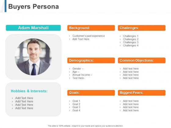 Share Of Wallet Buyers Persona Ppt Model Files PDF