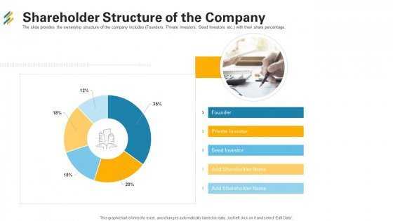 Shareholder Structure Of The Company Ppt Professional Skills PDF