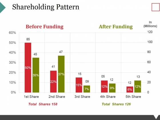 Shareholding Pattern Template 2 Ppt PowerPoint Presentation Visual Aids Layouts