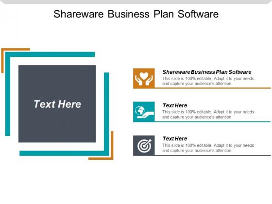 Shareware Business Plan Software Ppt PowerPoint Presentation Professional Good Cpb