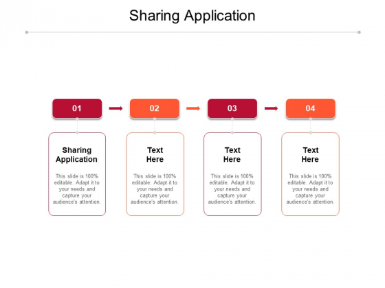 Sharing Application Ppt PowerPoint Presentation Icon Outfit Cpb Pdf