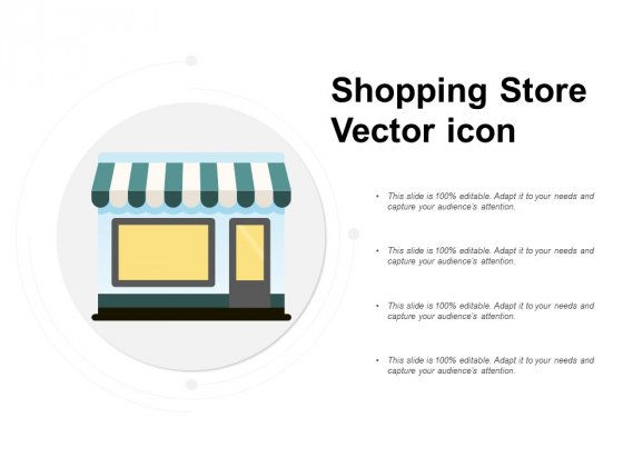 Shopping Store Vector Icon Ppt PowerPoint Presentation Show Vector