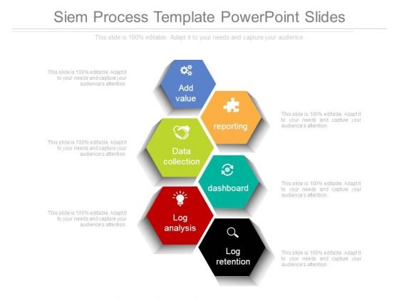 Siem Process Template Powerpoint Slides