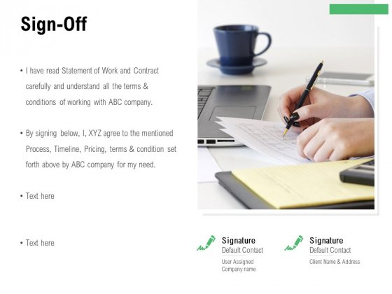 Sign Off Process Ppt PowerPoint Presentation Icon Graphics