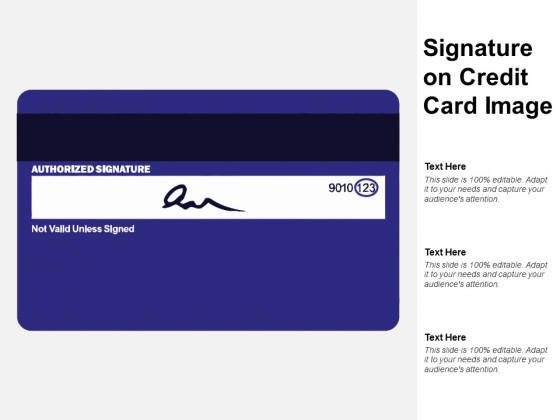 Signature On Credit Card Image Ppt PowerPoint Presentation Portfolio Background Designs