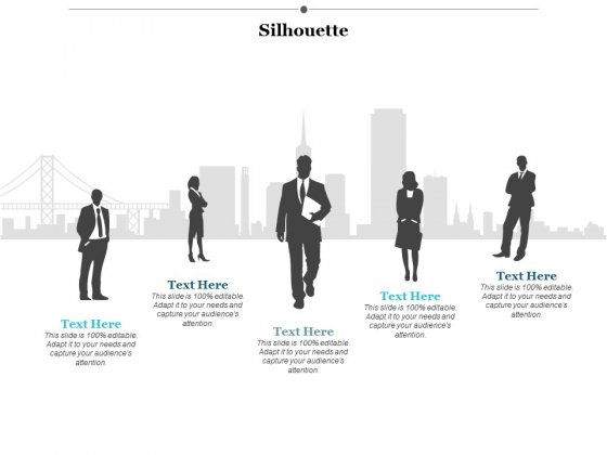 Silhouette Ppt Powerpoint Presentation Icon Summary