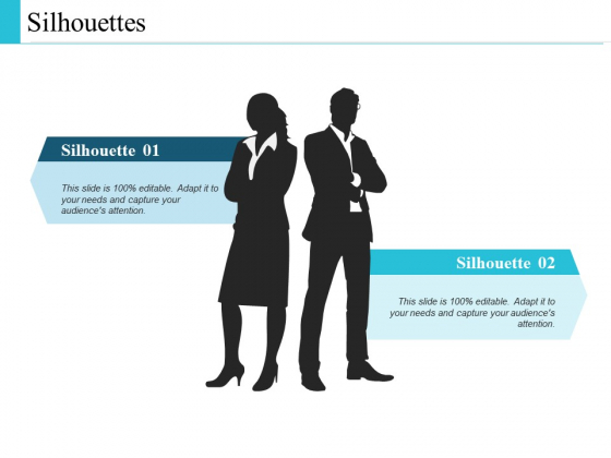 Silhouettes Business Management Ppt PowerPoint Presentation Infographics Gallery