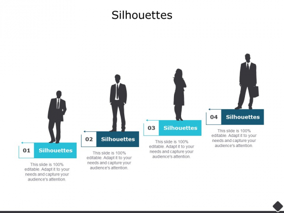 Silhouettes Business Ppt PowerPoint Presentation Inspiration Templates