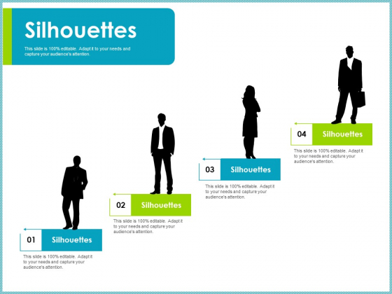 Silhouettes Client Centric Strategies Ideas PDF