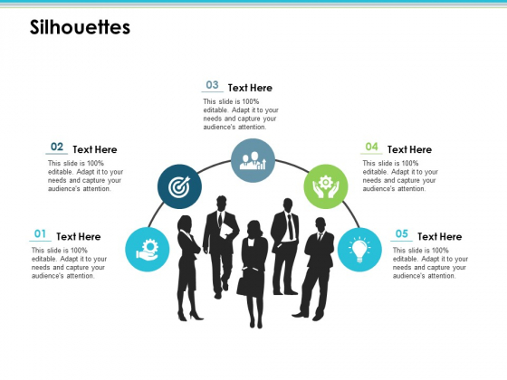 Silhouettes Employee Value Proposition Ppt PowerPoint Presentation Professional Smartart