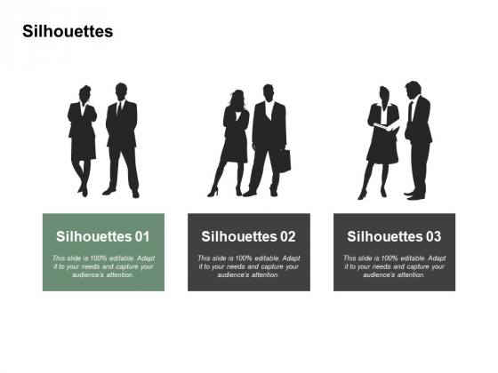 Silhouettes Formal Ppt PowerPoint Presentation Infographics Templates