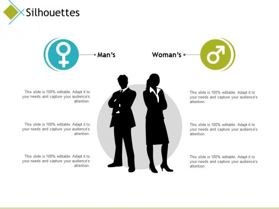 Silhouettes Marketing Ppt PowerPoint Presentation Portfolio Examples