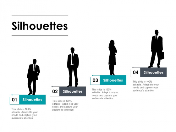 Silhouettes Marketing Strategy Ppt PowerPoint Presentation Styles Shapes