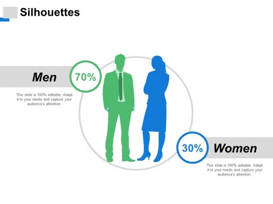 Silhouettes Men Women Ppt PowerPoint Presentation Slides Graphic Tips