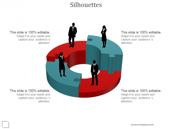 Silhouettes Ppt PowerPoint Presentation Background Designs