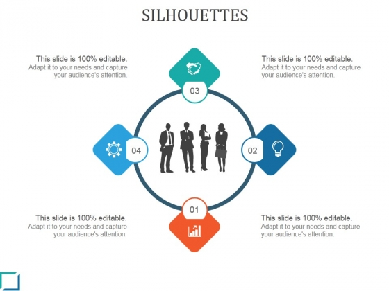 Silhouettes Ppt PowerPoint Presentation Background Image
