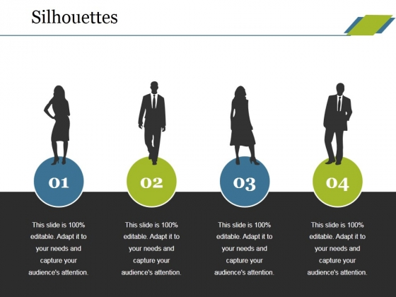 Silhouettes Ppt PowerPoint Presentation File Sample