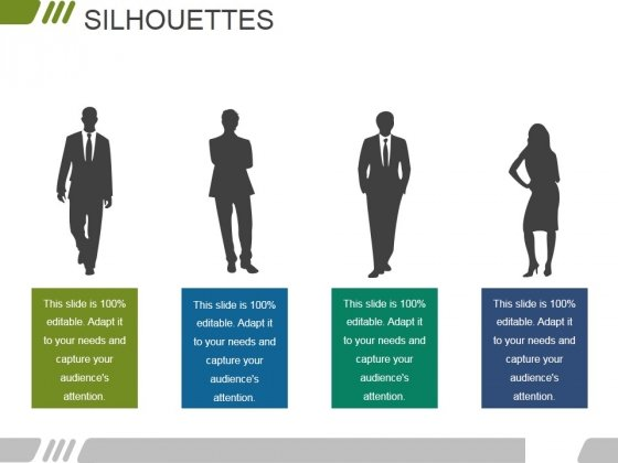 Silhouettes Ppt PowerPoint Presentation File Show