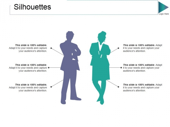 Silhouettes Ppt PowerPoint Presentation File Slide Download