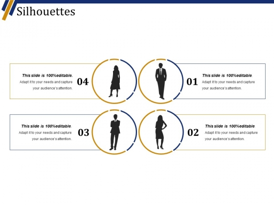 Silhouettes Ppt PowerPoint Presentation File Vector