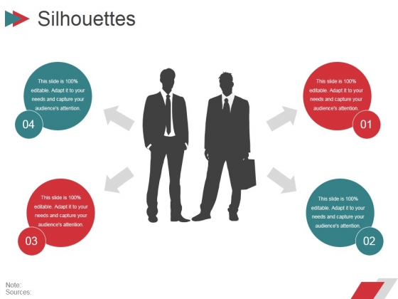 Silhouettes Ppt PowerPoint Presentation Ideas Elements