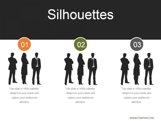 Silhouettes Ppt PowerPoint Presentation Ideas Graphics Design