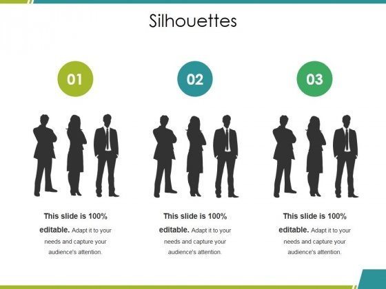 Silhouettes Ppt PowerPoint Presentation Ideas Topics