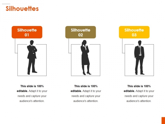 Silhouettes Ppt PowerPoint Presentation Infographic Template Demonstration
