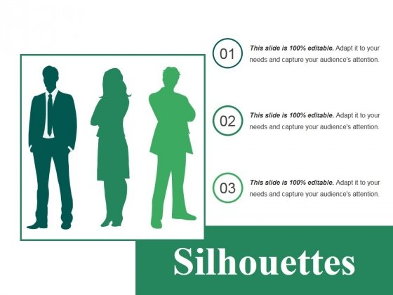 Silhouettes Ppt PowerPoint Presentation Infographics Inspiration