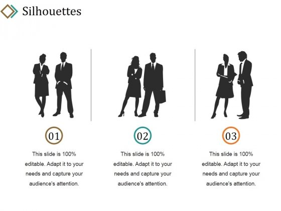 Silhouettes Ppt PowerPoint Presentation Infographics Layouts