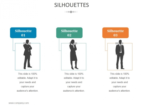 Silhouettes Ppt PowerPoint Presentation Infographics Microsoft