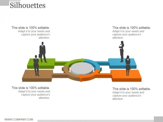Silhouettes Ppt PowerPoint Presentation Infographics Picture