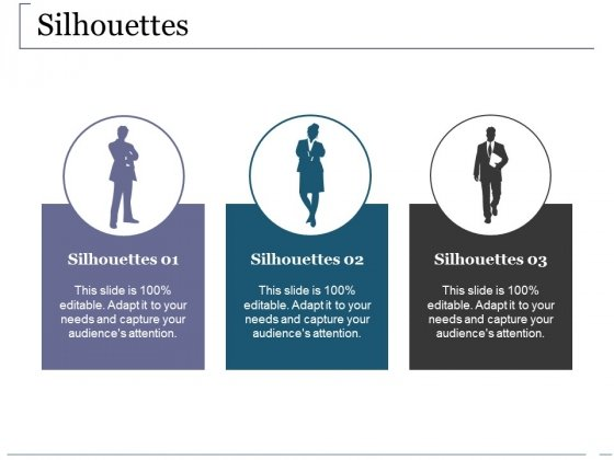 Silhouettes Ppt PowerPoint Presentation Infographics Show