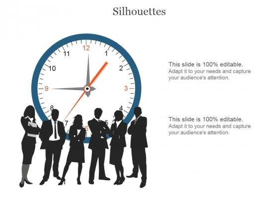 Silhouettes Ppt PowerPoint Presentation Infographics