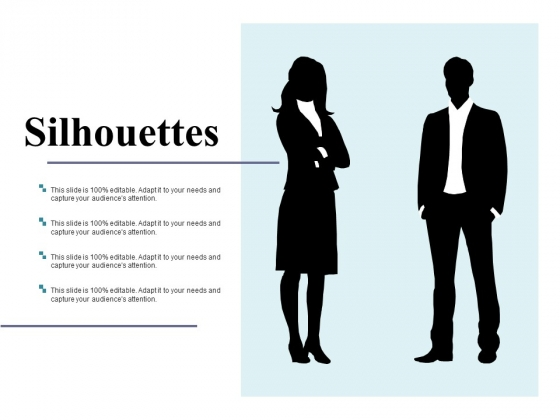 Silhouettes Ppt PowerPoint Presentation Inspiration Example