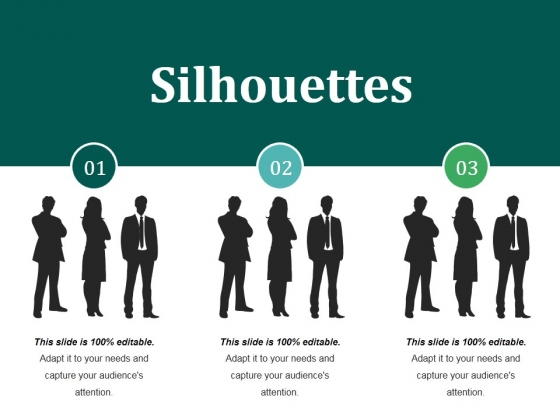 Silhouettes Ppt PowerPoint Presentation Inspiration Visual Aids
