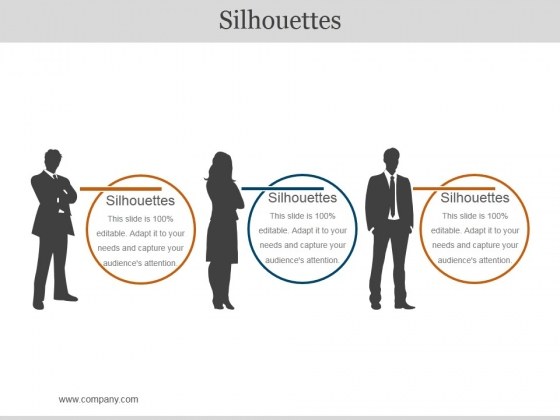 Silhouettes Ppt PowerPoint Presentation Layouts Clipart Images
