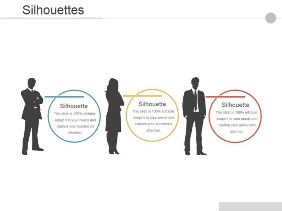 Silhouettes Ppt PowerPoint Presentation Layouts Model