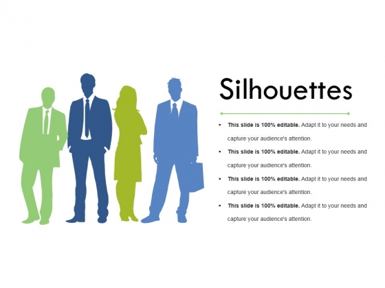 Silhouettes Ppt PowerPoint Presentation Layouts Slideshow