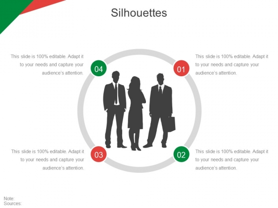 Silhouettes Ppt PowerPoint Presentation Model Aids