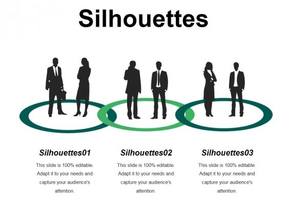 Silhouettes Ppt PowerPoint Presentation Model Pictures