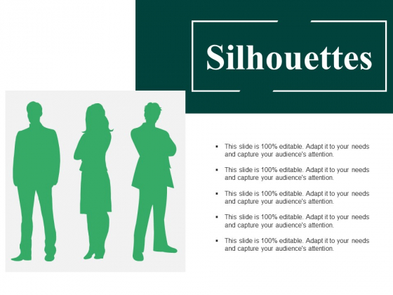 Silhouettes Ppt PowerPoint Presentation Model Tips