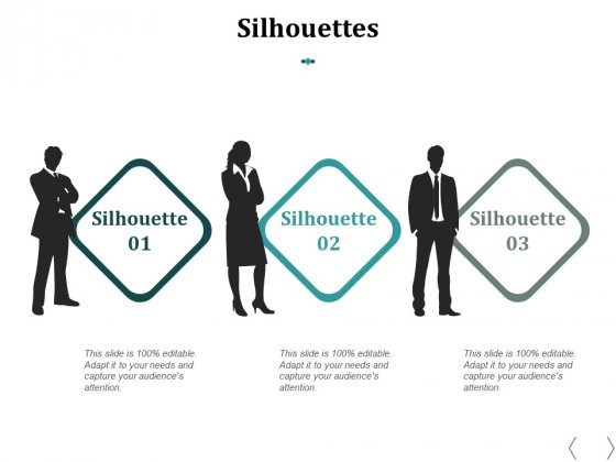 Silhouettes Ppt PowerPoint Presentation Outline Background