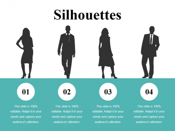 Silhouettes Ppt PowerPoint Presentation Outline Guide