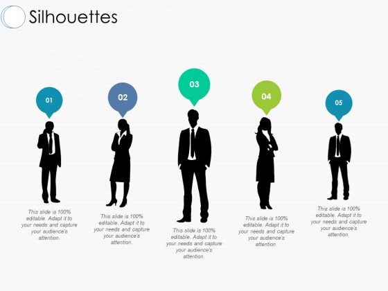 Silhouettes Ppt PowerPoint Presentation Outline Slide