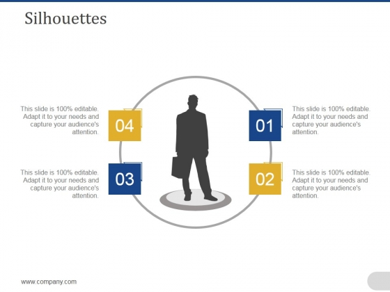Silhouettes Ppt PowerPoint Presentation Outline Slides