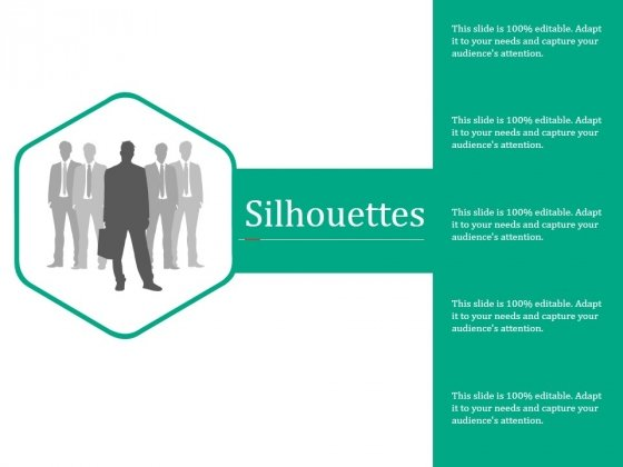 Silhouettes Ppt PowerPoint Presentation Outline Structure