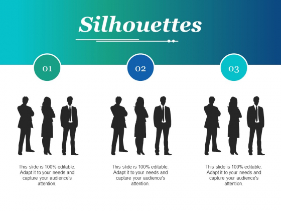 Silhouettes Ppt PowerPoint Presentation Outline Themes