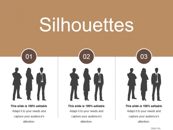 Silhouettes Ppt PowerPoint Presentation Pictures Background
