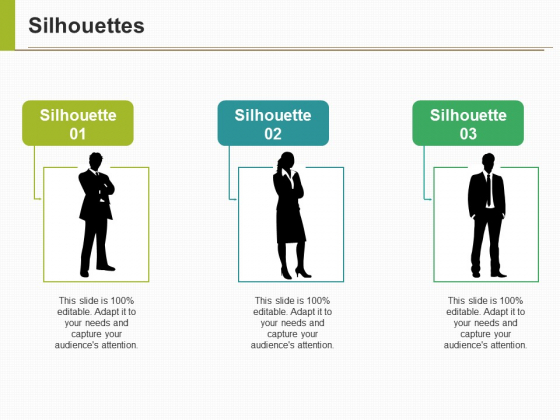 Silhouettes Ppt PowerPoint Presentation Pictures Design Inspiration